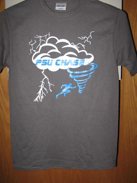Storm Chase Team T front gray