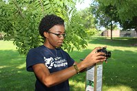Sophomore's field research looks at environmental change