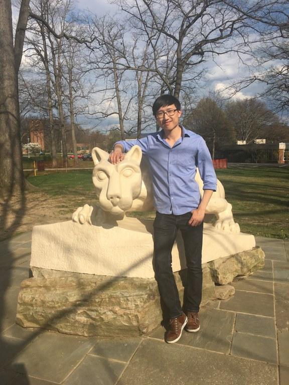 Hans Chen 2018 AMS Student Paper Award