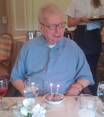 Al Blackadar 93rd Birthday