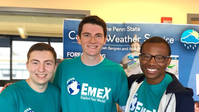 EMEX Volunteers Spring 2018
