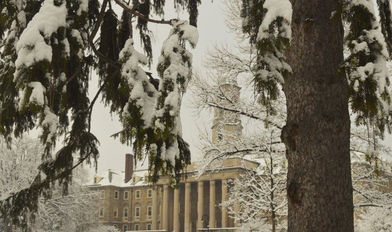Snowy Old Main