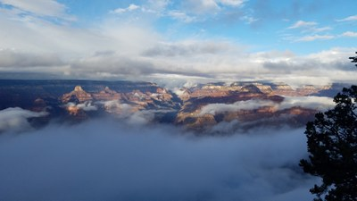Dana Tobin - Clouds in the Grand Canyon