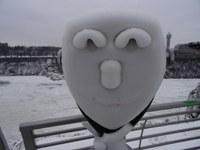 Steven Naegele 2017 Frozen mist on binoculars, Niagara Falls NY
